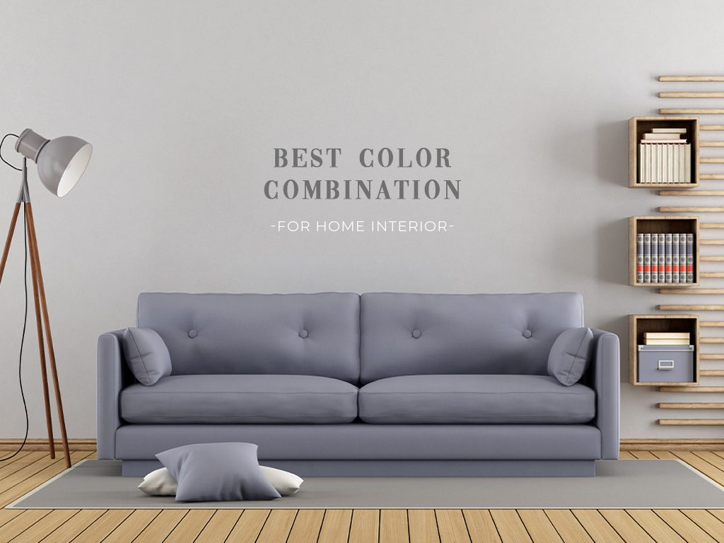 Best Color Combination for Home Interiors